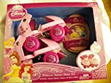 Disney Princess Junior Skate Set Includes Junior Roller Skates and Knee Pads