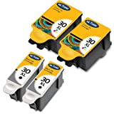 2x KODAK 30XL (High Capacity) Compatible Black & 2x Tri-Colour Printer Ink Cartridges For use with Kodak ESP 1.2 3.2 C100 C110 C300 C310 C315 Printers by Ink Trader
