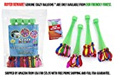 Crazy Balloons - Fills and Ties 148 Water Balloons in a Minute - Hose Attachment Filler - Includes 148 Self Sealing Balloons - Make a Bunch of Battle Ready Water Bombs Fast - Easy for Kids to Use - Bonus Water Fight Games Booklet