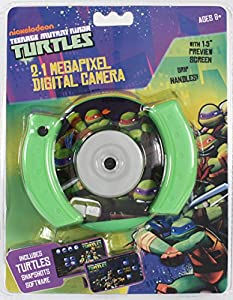 Teenage Mutant Ninja Turtles Tmnt 2.1Mp Digital Camera