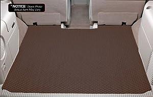 Mazda Miata Lloyd Mats Rubbertite Custom-Fit All-Weather Rubber Floor Mats Trunk Area - Brown (1999 99 2000 00 2001 01 2002 02 2003 03 2004 04 2005 05 )