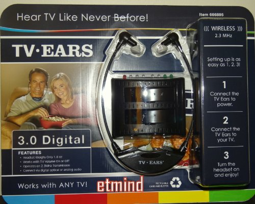 Tv Ears 3.0 Digital - Works With Any Tv!