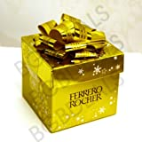 Ferrero Rocher Xmas Gift Box - 6 Piece 75g Mini Cube - Share Something Special