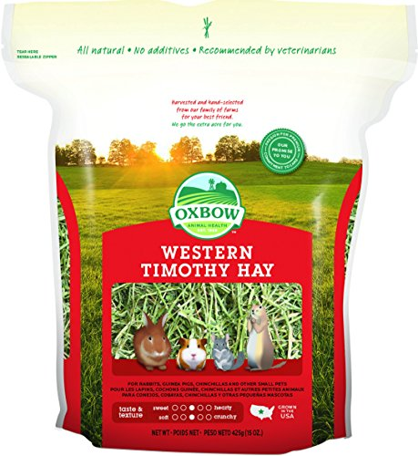 Oxbow Animal Health Western Timothy Hay for Pets, 15-Ounce - 1