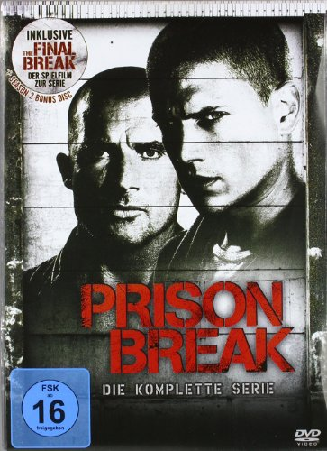 Prison Break - Die komplette Serie [24 DVDs]