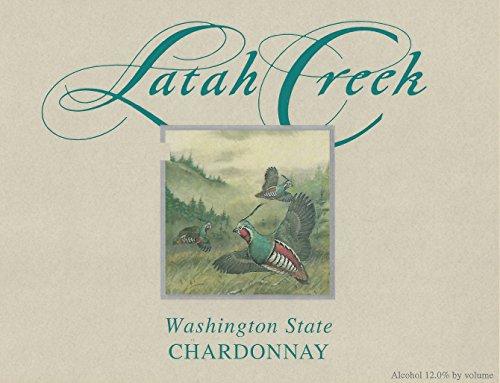 2012 Latah Creek Winery Ancient Lakes Chardonnay 750 Ml