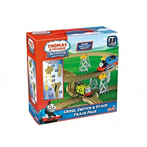 Thomas &amp; Friends TrackMaster Cross, Switch &amp; Stack Track Pack