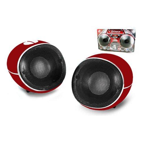 2 Zenex Computer Deskotp Speaker System Audio Usb Power Sound Surround Music New