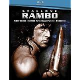 Rambo Triple Feature (Rambo: First Blood / Rambo: First Blood, Part 2 / Rambo 3) [Blu-ray]