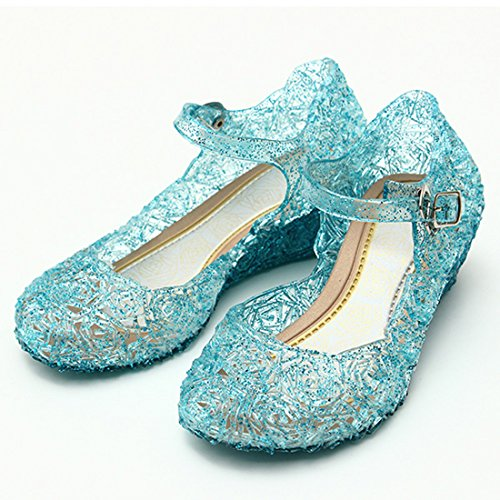 Queen Elsa Costume Shoes for Girls