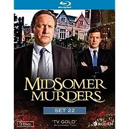 Midsomer Murders, Set 22 [Blu-ray]