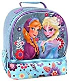 Disney Store Frozen Elsa & Anna Glitter Sparkle Lunch Box Tote