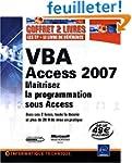 VBA Access 2007 - Coffret de 2 livres...