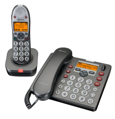 Amplicom PowerTel 580CU Desk Phone and DECT Combo picture