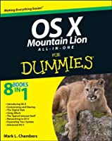 OS X Mountain Lion All-in-One For Dummies Front Cover