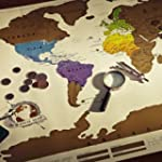 Cwdeal Personalized Scratch Map World...
