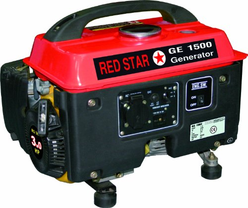 Gruppo elettrogeno/Generatore di corrente 1300W Mosa - GE 1500 Red Star