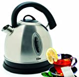 MaxiMatic EKT-6863 Elite Elite Platinum Stainless-Steel 1-2/3-Liter Cordless Water Kettle