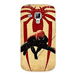 Hanging Web Back Case Cover for Galaxy S Duos