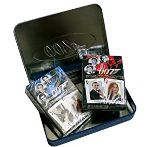 Cartamundi James Bond Collectible Tin