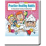 Practice Healthy Habits Coloring and Activity Book Trade Show Giveaway