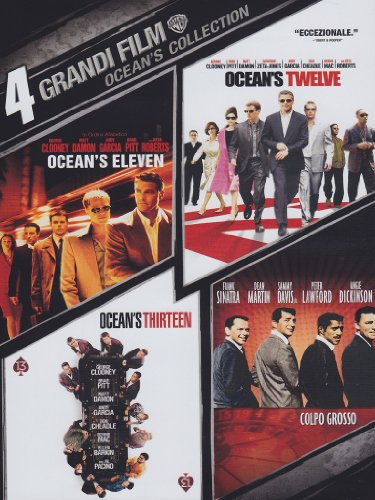 4 grandi film - Ocean's collection [4 DVDs] [IT Import]