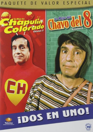 DVD : El Chavo Del 8: Volume 6 / El Chapulin Colorado: Volume 3 (Full Frame, 2 Disc)
