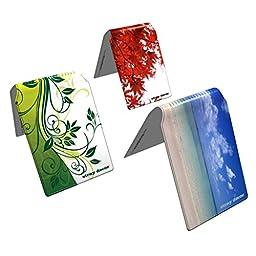 Stray Decor (Nature) 3x Bus / Train Ticket Wallets, Metro / Clipper / ORCA Card Holders COMBO