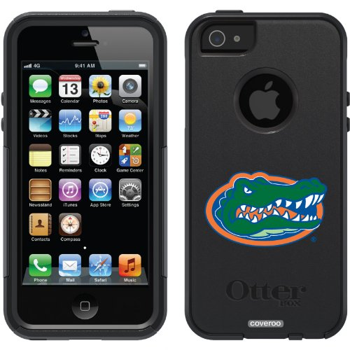 Special Sale University of Florida - Gator Head design on a Black OtterBox® Commuter Series® Case for iPhone 5s / 5