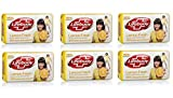 Lifebuoy Soap with 100% Better Germ Protection (Pack of 6) 59 Gm Each