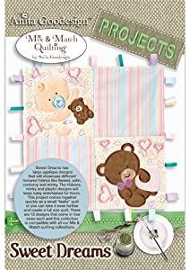 Anita Goodesign ~ Sweet Dreams ~ PROJECTS ~ Embroidery Designs
