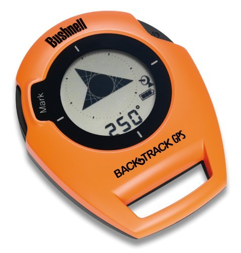 Bushnell BackTrack Original G2 GPS Personal Locator and Digital Compass, Orange/Black