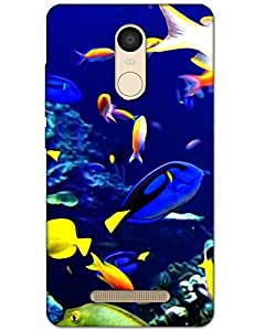 Hugo Xiaomi Redmi Note 3 Back Cover Hard Case Printed Designer Multicolour
