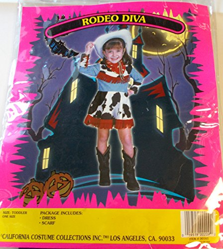 Cowgirl Rodeo Diva Toddler Costume Dress 2T NIP