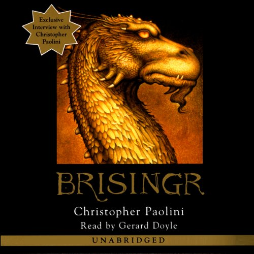 Brisingr: The Inheritance Cycle, Book 3 Audiobook ... A Dance With Dragons Audiobook Cover