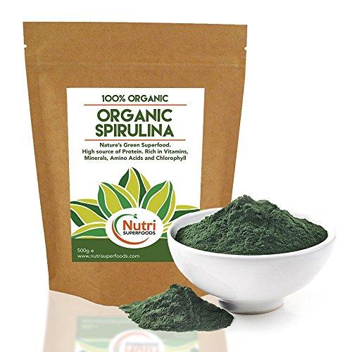 NEW Launch* Organic Spirulina Powder   Best Value Blue Green Algae ...