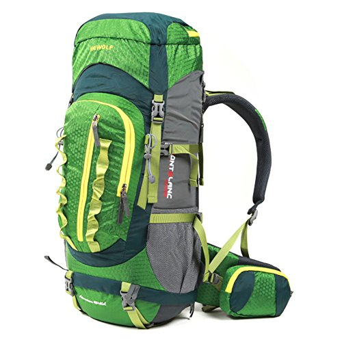 escalade extérieur sac / sac à dos / hommes et les femmes sac à bandoulière / packages de voyage randonnée de camping imperméables-vert 55L