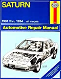 Saturn Automotive Repair Manual/1991 Thru 1994 All Models