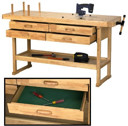"Cheap Workbench: Windsor Design 60"" Hardwood Workbench ..."