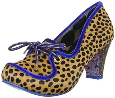 Irregular Choice Women's You Legend Leopard Mary Janes 4053-4A 3.5 UK