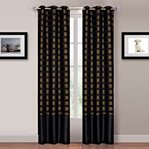 bedford home 2 panel katrina grommet curtains