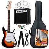 Rocktile Banger's Pack Komplettset E-Gitarre Sunburst
