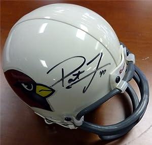 Pat Tillman Autographed Hand Signed Arizona Cardinals Mini Helmet PSA DNA #C71438 by Hall of Fame Memorabilia
