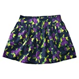 Cherokee Girls' Floral Print Skirt - Navy