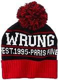 Wrung paris finest bonnet homme rouge red taille unique