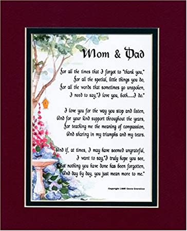 50th Wedding Anniversary Poems Mom And Dad