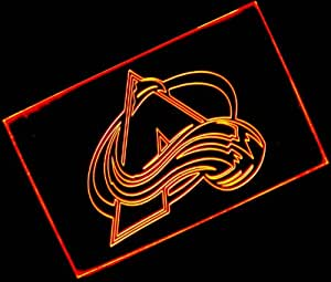 NHL - Colorado Avalanche with (16 kinds of flashing mode+remote control) Neon Light Sign
