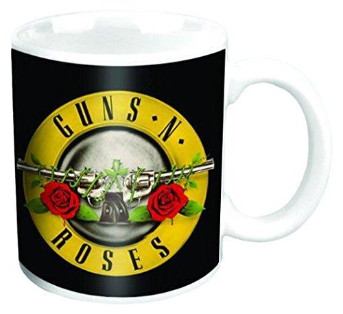 Empire-Poster Guns N 'Roses-Bullet-dimensioni (cm), circa Ø8,5h9,5-Software/tazze Guns N' Roses boxed Mug: Bullet-Tazza in ceramica, colore: bianco, stampata, Capacità 320ml, con licenza ufficiale, lavabile in lavastoviglie e adatta al microonde.