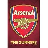 Arsenal(アーセナル) オフィシャル ポスター Crest サッカー サポーター グッズ ポスター [並行輸入品]