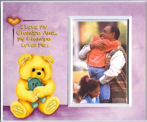 I Love Grandpa & Grandpa Loves Me! - Picture Frame Gift